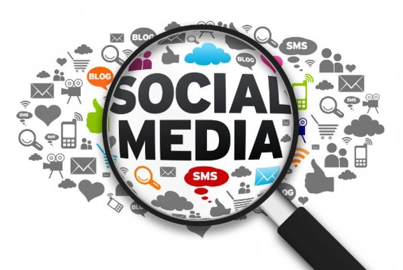 Sosial Media. Ilustrasi