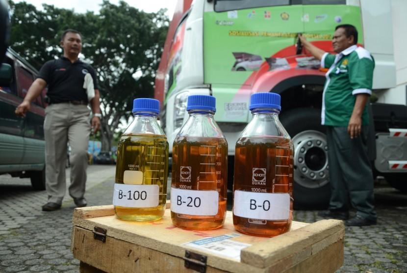 Sosialisasi pemanfaatan Biodiesel (B20) di Kantor Pertamina.