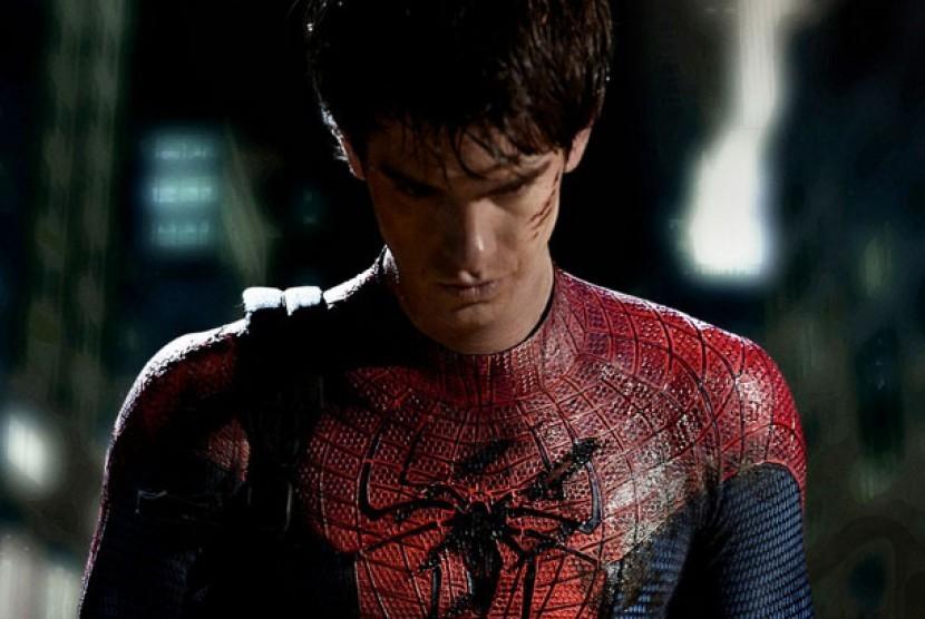 Hasil gambar untuk spiderman tewas