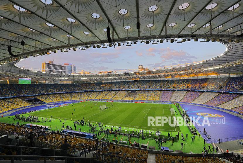 Stadion Final Liga Champion NSC Olimpiyskiy stadium Kiev Ukraina