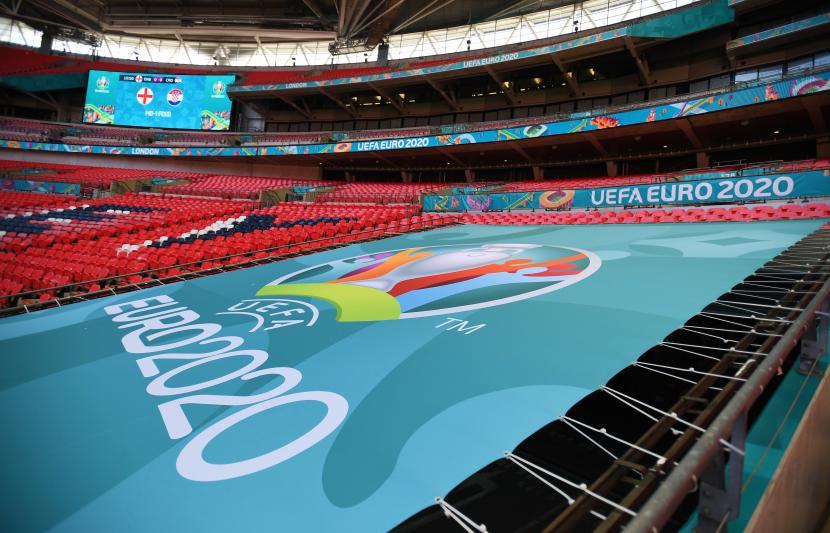 Empat perusahaan China sejajar dengan perusahaan global sponsori Piala Eropa.. Ilustrasi Piala Eropa 2020