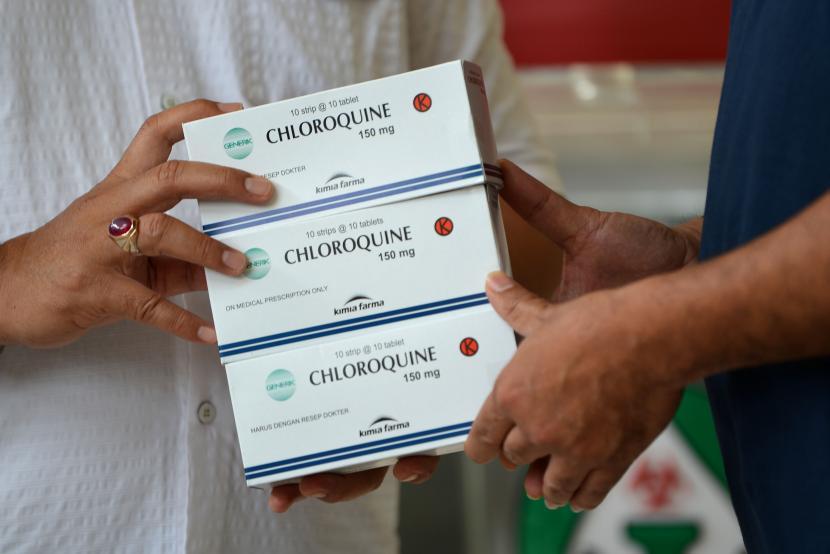 who chloroquine covid 19