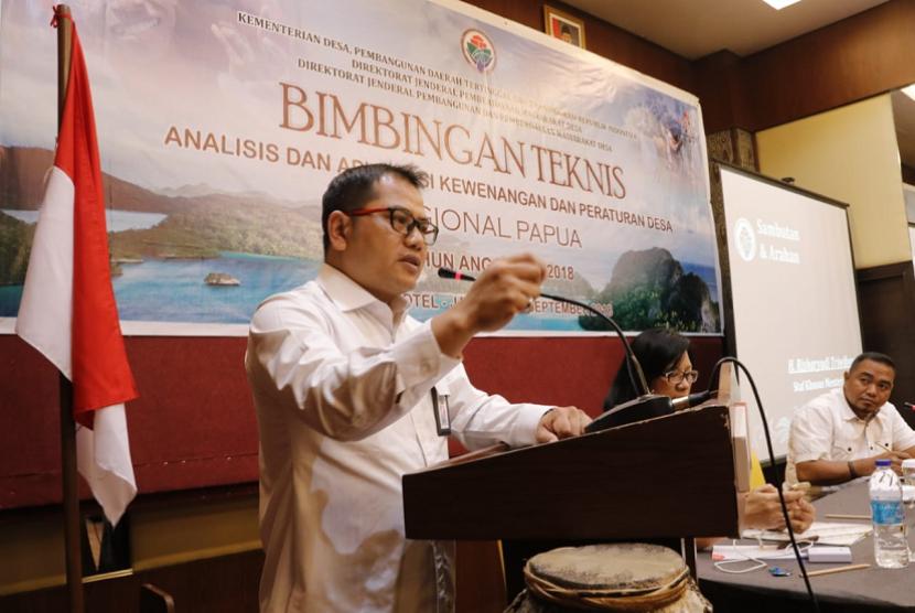 Staf Khusus Menteri Desa, Pembangunan Daerah Tertinggal, dan Transmigrasi (Mendes PDTT), Risharyudi Triwibowo.