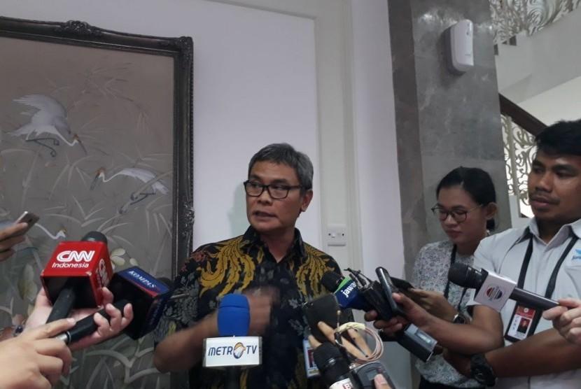 Staf Khusus Presiden Bidang Komunikasi dan Infromasi Johan Budi.