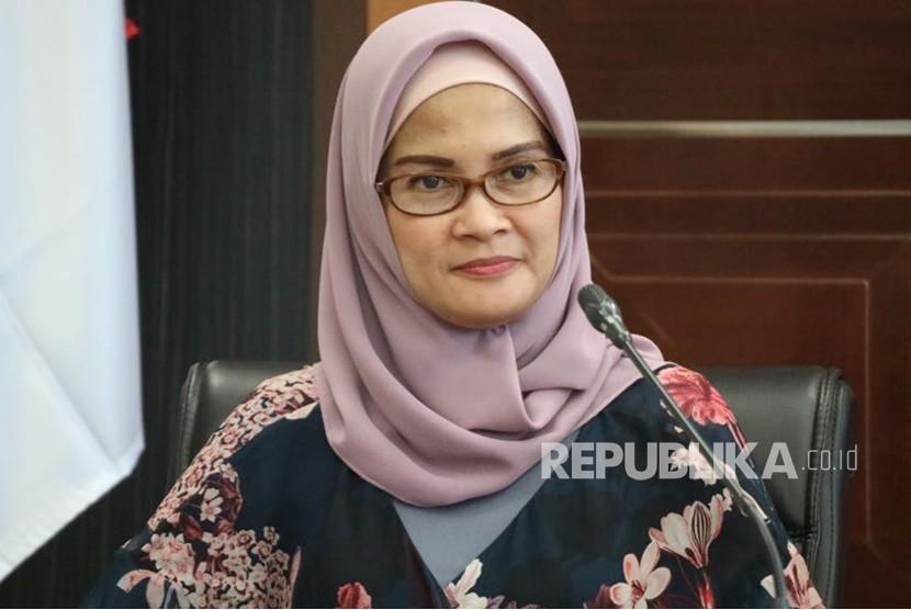 Staf Khusus Presiden Jokowi Bidang Komunikasi antar Kementerian dan Lembaga, Adita Irawati, Kamis (24/5).