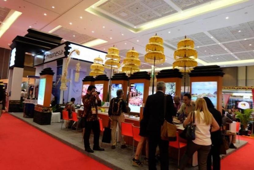 Stand-stand di Bali Beyond Travel Fair 2017