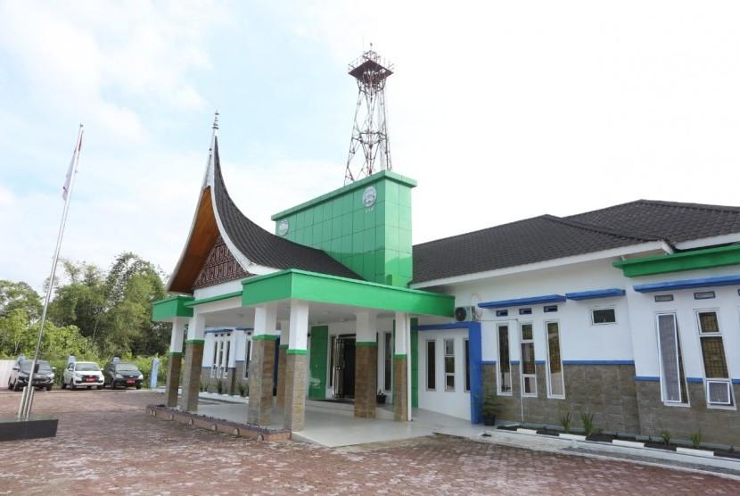 Stasiun Pemantau Atmosfer Global (SPAG) Bukit Kototabang, Kabupaten Agam, Sumatra Barat.
