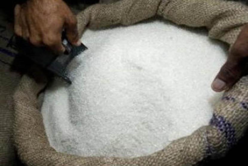 Aturan jaminan ketersediaan bahan baku gula ancam industri rumahan. Stok Gula (Ilustrasi)