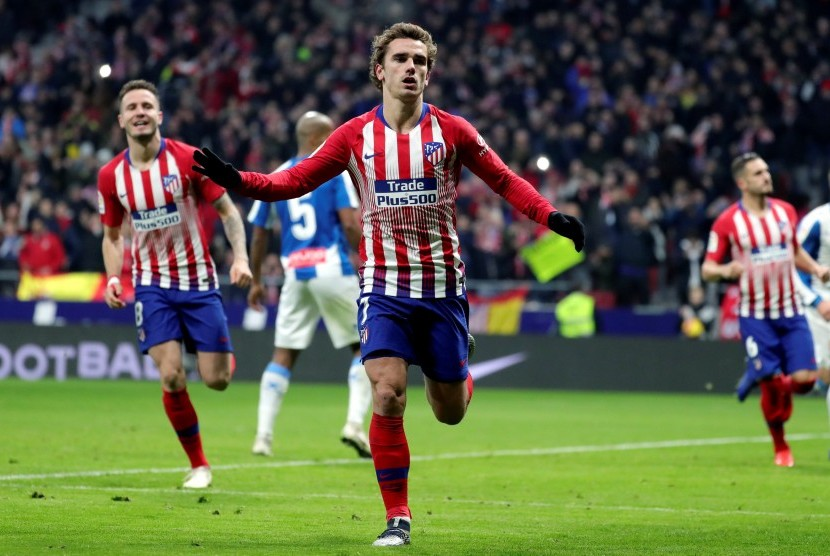 Striker Atletico Madrid, Antoine Griezmann.