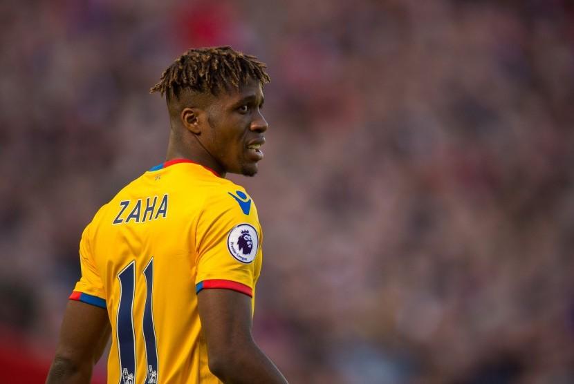 Striker Crystal Palace, Wilfried Zaha.