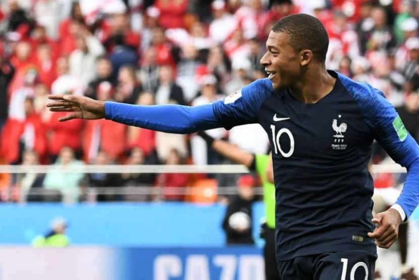 Striker Prancis, Kylian Mbappe
