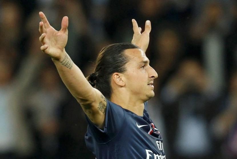 Striker PSG, Zlatan Ibrahimovic
