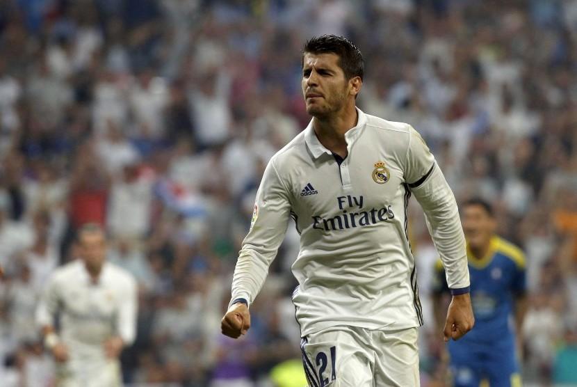 Striker Real Madrid, Alvaro Morata