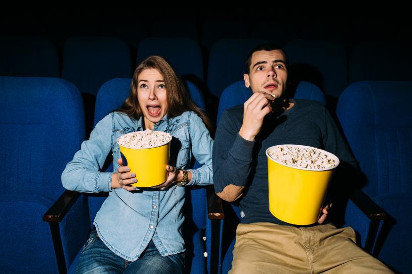 Studi ini memaparkan hubungan antara film horor dan pernikahan (ilustrasi).