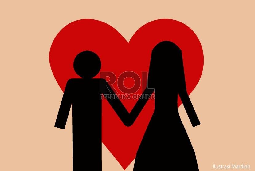 suami istri (ilustrasi)
