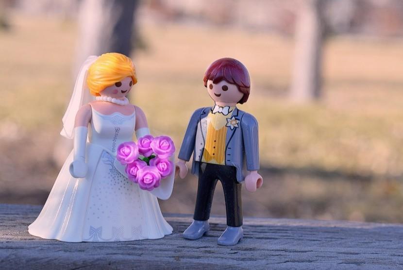 Suami istri/ilustrasi