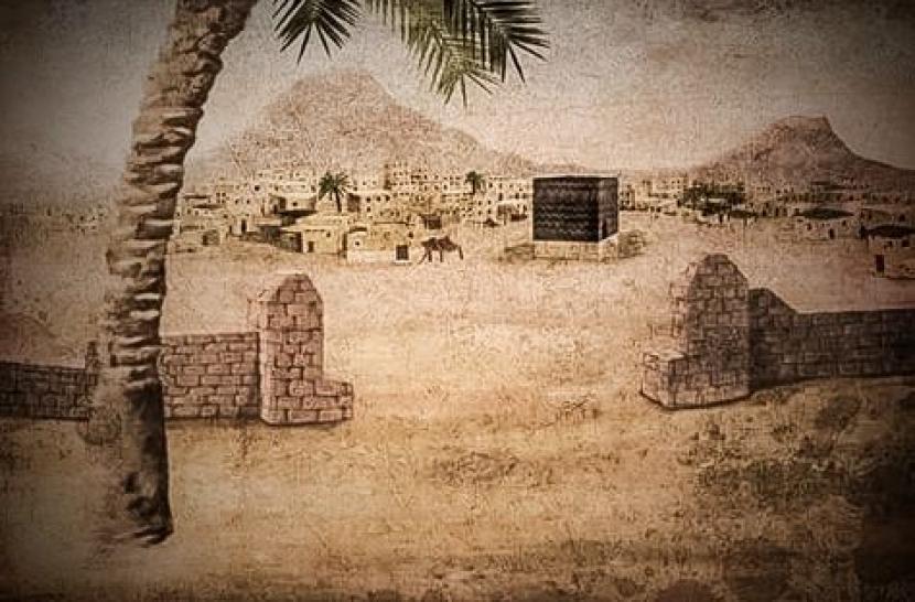 Suasana kehidupan suku Quraisy di Makkah, masa lalu. (liustrasi)