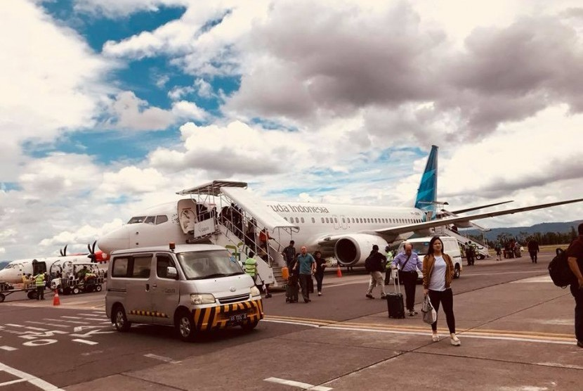 Suasana bandara Adisucipto