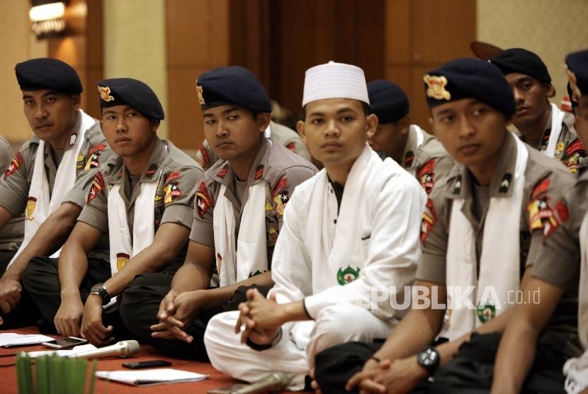 Suasana forum silaturahmi Polri dengan Ormas Islam di Auditorium Sekolah Tinggi Ilmu Kepolisian (STIK), Jakarta (Ilustrasi)