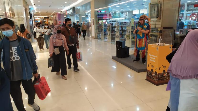 Dua Pusat Perbelanjaan di Kudus Ditegur Abaikan Prokes (ilustrasi).