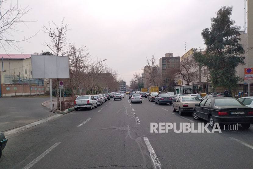 Suasana Kota Teheran,Iran.