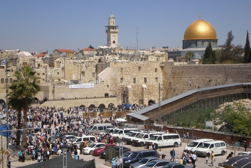 Suasana Kota Yerusalem.