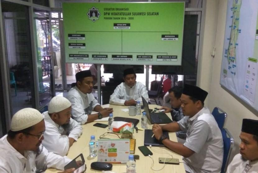 Yayasan Al Bayan Kunjungi DPW Hidayatullah