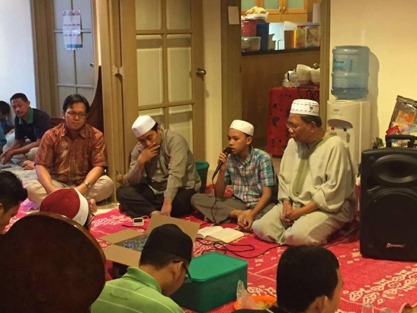 Suasana pengajian yang diadakan Pimpinan Cabang Istimewa Muhammadiyah (PCIM) Malaysia.