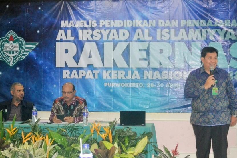 Suasana Rakernas Al Irsyad di Purwokerto, Jawa Tengah.