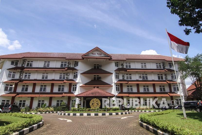 Suasana tempat isolasi pasien OTG COVID-19 di Wisma Makara UI, Depok, Jawa Barat.