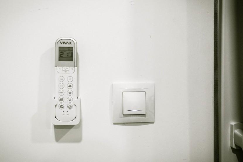 Suhu ideal untuk ruang tertutup dapat berkisar antara 23 derajat hingga 24 derajat.