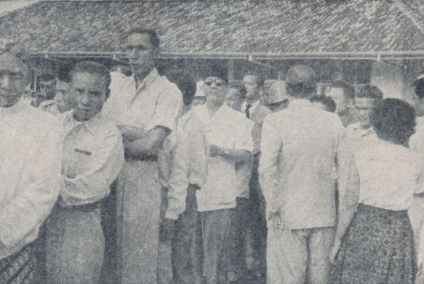 Sukarno di Pemilu 1955.