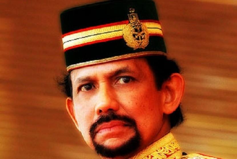Sultan Hassanal Bolkiah, Raja Brunei Darussalam.