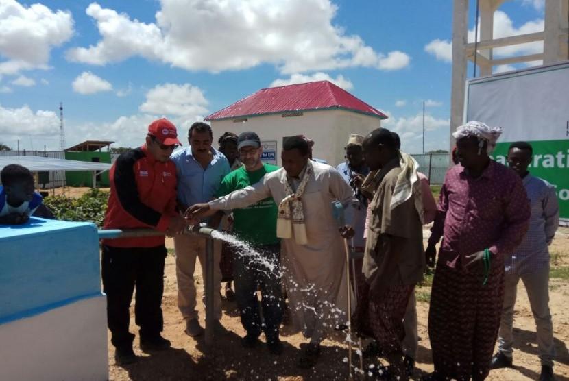 Sumur untuk warga Somalia.
