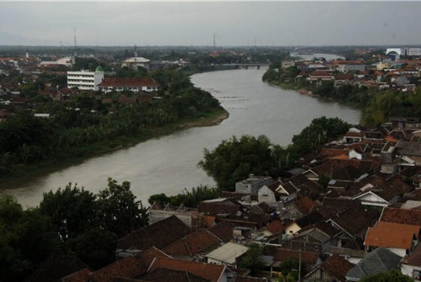 Sungai Brantas (ilustrasi)