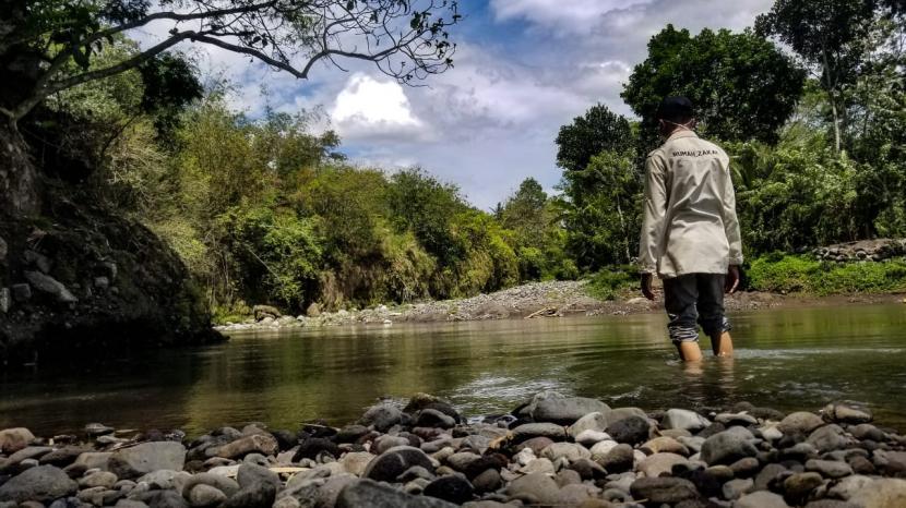Sungai Progo (ilustrasi).