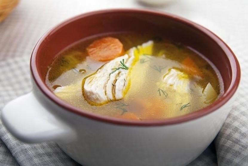 Sup Ayam (Ilustrasi)
