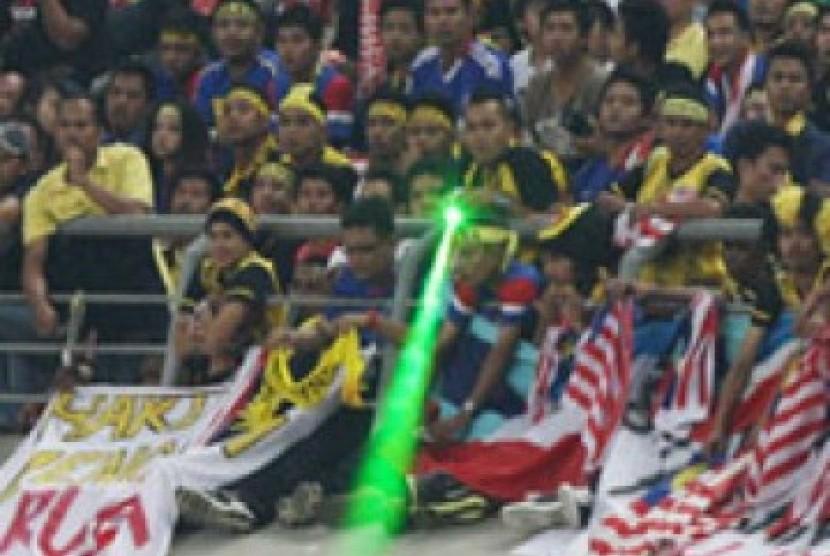 Penembakan sinar laser (ilustrasi)