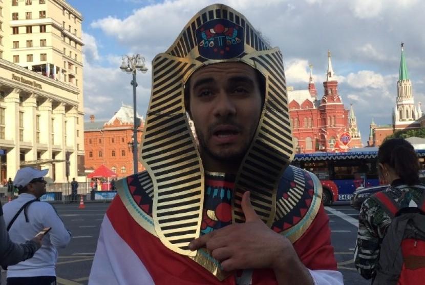 Suporter Mesir di Rusia.