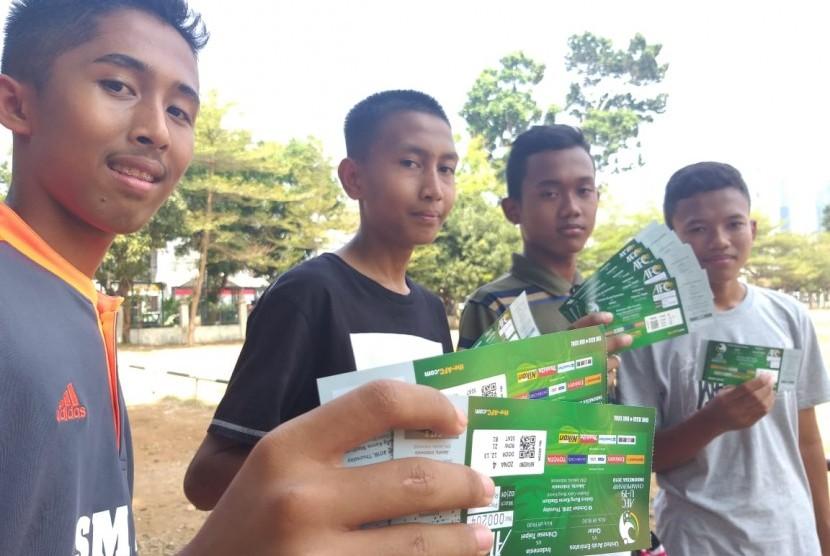 Antusiasme Suporter Dari Yogyakarta Dukung Timnas U 19