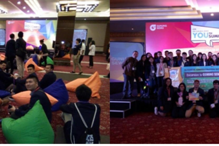 Swiss German University (SGU) menggelar acara Study Tour To Gunung Sewu Group 2nd Youth Summit 2016 Di Balai Kartini, Jakarta Selasa (11/10).