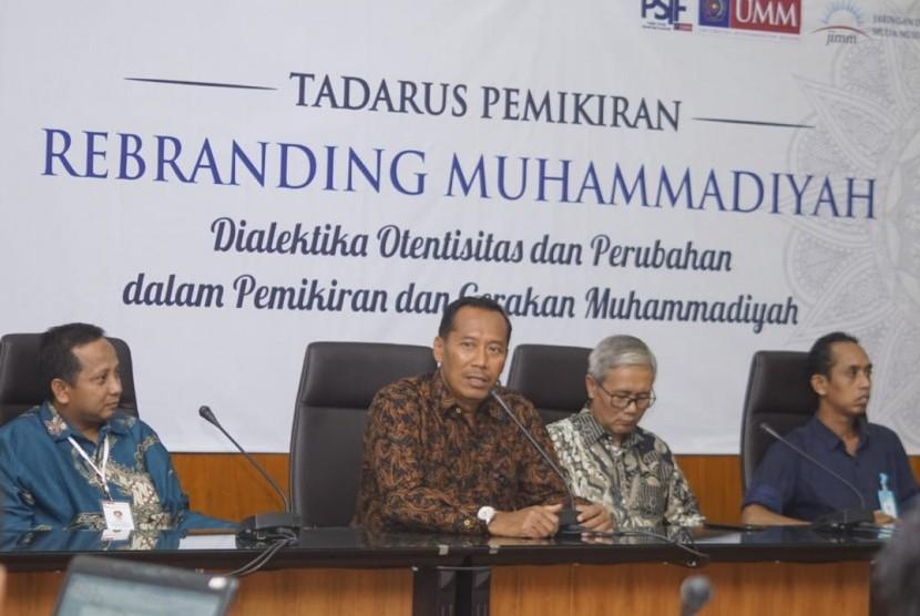Tadarus Pemikiran Nasional bertemakan Rebranding Muhammadiyah: Dialetika Otentisitas dan Perubahan dalam Pemikiran dan Gerakan Muhammadiyah.