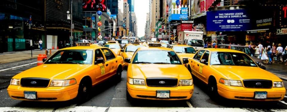 Taksi di New York, ilustrasi