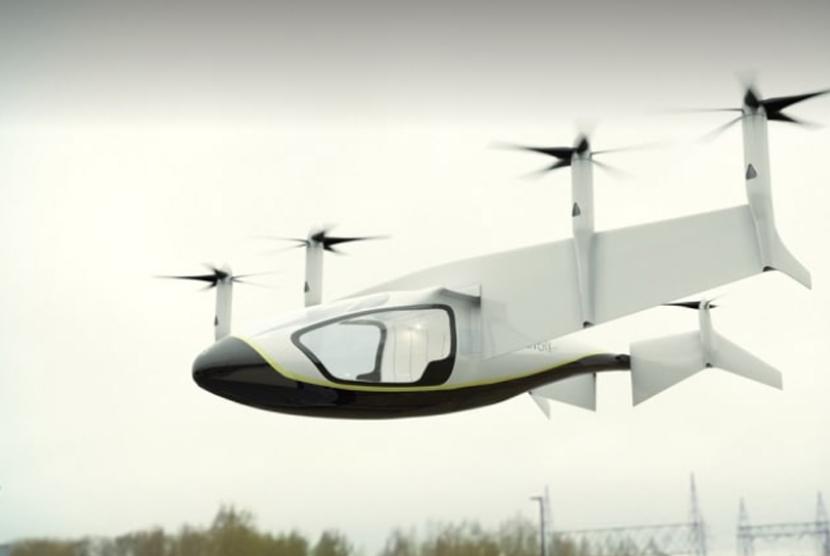 Taksi terbang rancangan Rolls Rocye