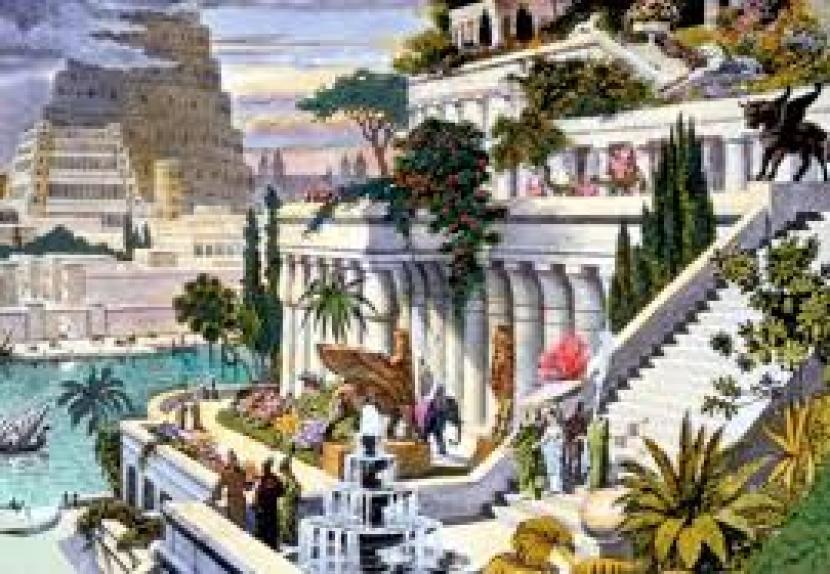 Dimana Nabi Ibrahim Lahir dan Dimakamkan? Taman Gantung Babilonia.