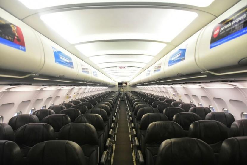 Kabin pesawat.