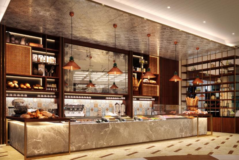 Tampilan baru Sailendra Restaurant di Hotel JW Marriott Jakarta.