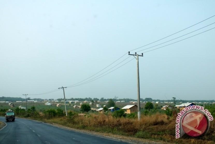 Tanah di Register 45 Mesuji, Bandar Lampung. (ilustrasi)