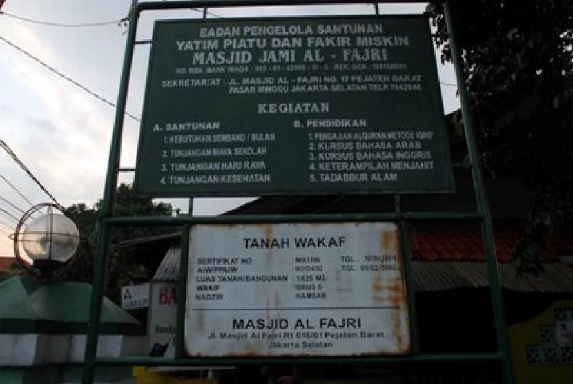 Tanah Masjid Harus Wakaf Republika Online