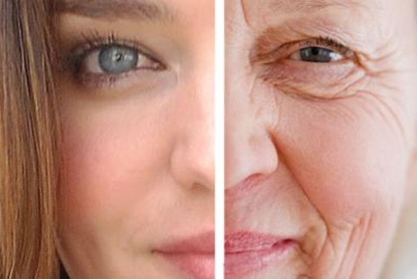 Tanda-tanda penuaan kulit